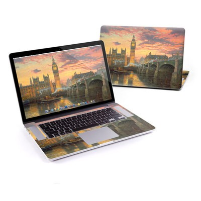 MacBook Pro Retina 15in Skin - Thomas Kinkades London