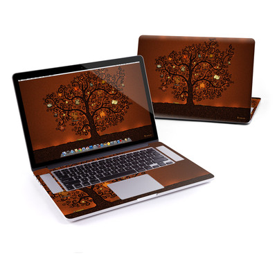 MacBook Pro Retina 15in Skin - Tree Of Books