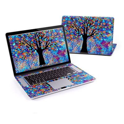 MacBook Pro Retina 15in Skin - Tree Carnival