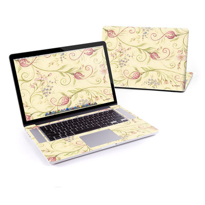 MacBook Pro Retina 15in Skin - Tulip Scroll