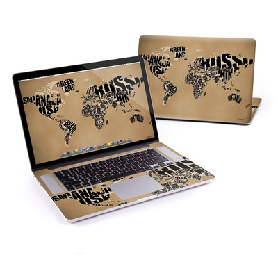 MacBook Pro Retina 15in Skin - Type Map