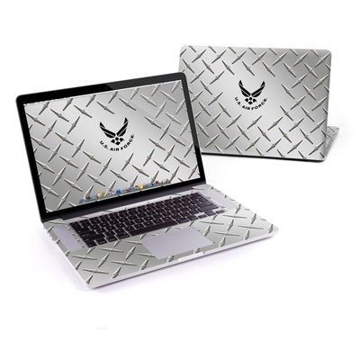 MacBook Pro Retina 15in Skin - USAF Diamond Plate