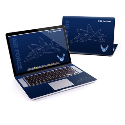 MacBook Pro Retina 15in Skin - F-22 Raptor