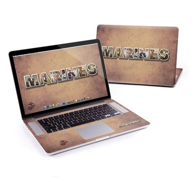 MacBook Pro Retina 15in Skin - Vintage Poster