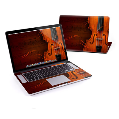 MacBook Pro Retina 15in Skin - Violin