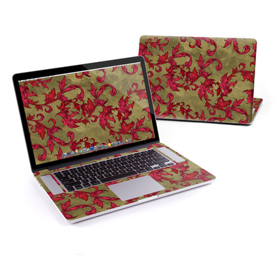 MacBook Pro Retina 15in Skin - Vintage Scarlet