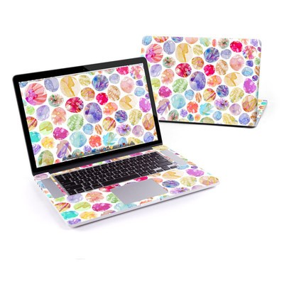 MacBook Pro Retina 15in Skin - Watercolor Dots