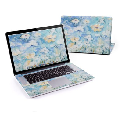 MacBook Pro Retina 15in Skin - White & Blue