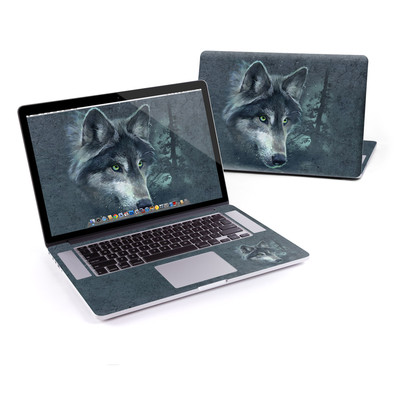 MacBook Pro Retina 15in Skin - Wolf Reflection