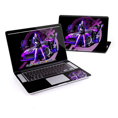 MacBook Pro Retina 15in Skin - Z33 Purple