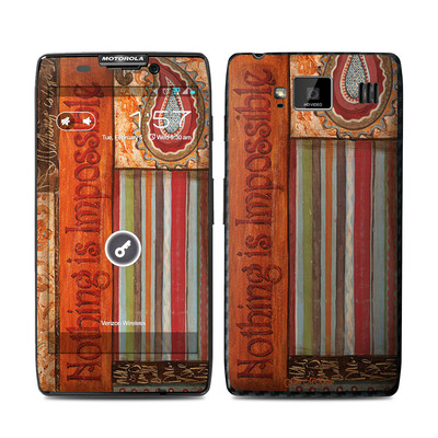Motorola Droid Razr Maxx HD Skin - Be Inspired