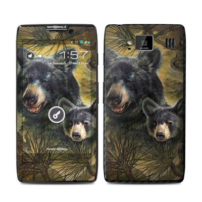 Motorola Droid Razr Maxx HD Skin - Black Bears