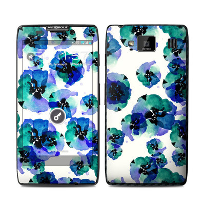 Motorola Droid Razr Maxx HD Skin - Blue Eye Flowers