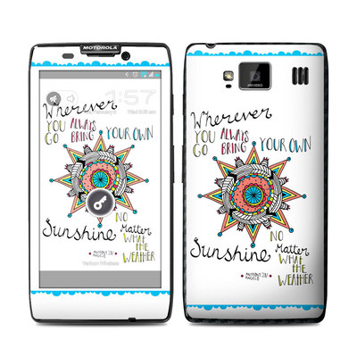 Motorola Droid Razr Maxx HD Skin - Bring Your Own