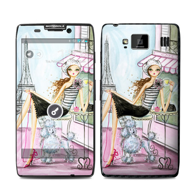 Motorola Droid Razr Maxx HD Skin - Cafe Paris