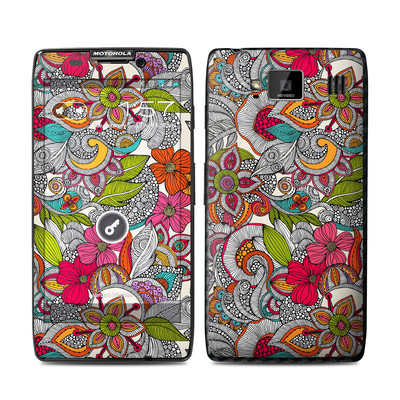 Motorola Droid Razr Maxx HD Skin - Doodles Color