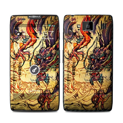 Motorola Droid Razr Maxx HD Skin - Dragon Legend