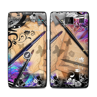 Motorola Droid Razr Maxx HD Skin - Dream Flowers