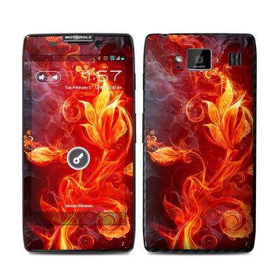 Motorola Droid Razr Maxx HD Skin - Flower Of Fire