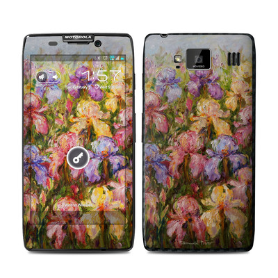 Motorola Droid Razr Maxx HD Skin - Field Of Irises