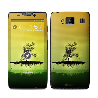 Motorola Droid Razr Maxx HD Skin - Flying Tree Amber