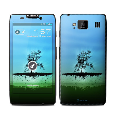 Motorola Droid Razr Maxx HD Skin - Flying Tree Blue