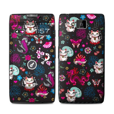 Motorola Droid Razr Maxx HD Skin - Geisha Kitty