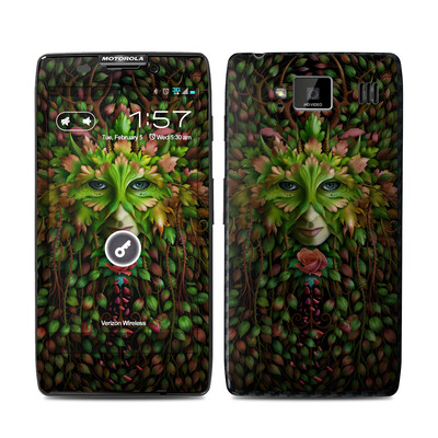Motorola Droid Razr Maxx HD Skin - Green Woman