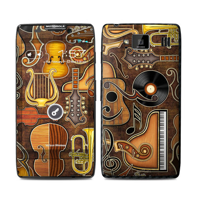 Motorola Droid Razr Maxx HD Skin - Music Elements