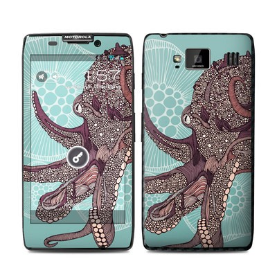 Motorola Droid Razr Maxx HD Skin - Octopus Bloom