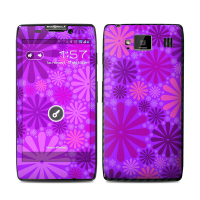 Motorola Droid Razr Maxx HD Skin - Purple Punch