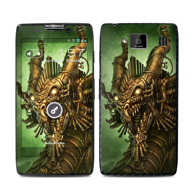 Motorola Droid Razr Maxx HD Skin - Steampunk Dragon