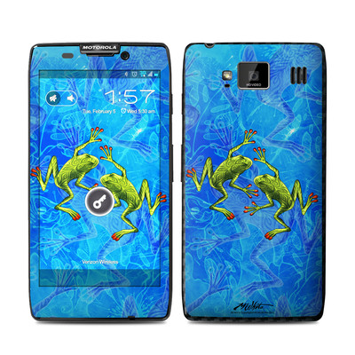 Motorola Droid Razr Maxx HD Skin - Tiger Frogs