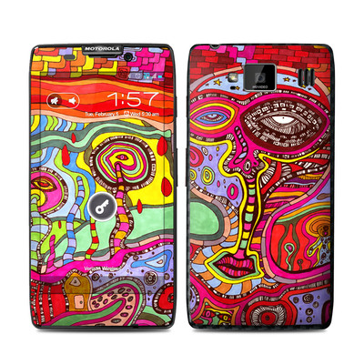 Motorola Droid Razr Maxx HD Skin - The Wall