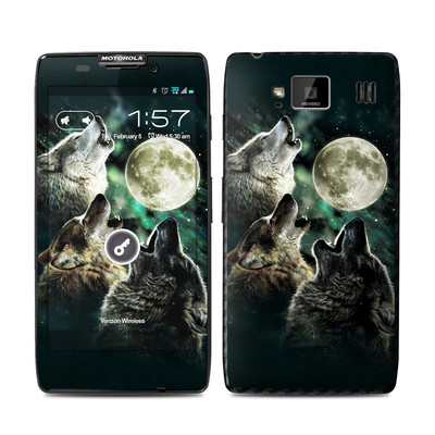 Motorola Droid Razr Maxx HD Skin - Three Wolf Moon