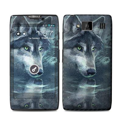 Motorola Droid Razr Maxx HD Skin - Wolf Reflection