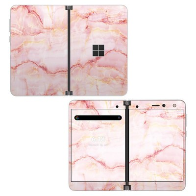 Microsoft Surface Duo Skin - Satin Marble