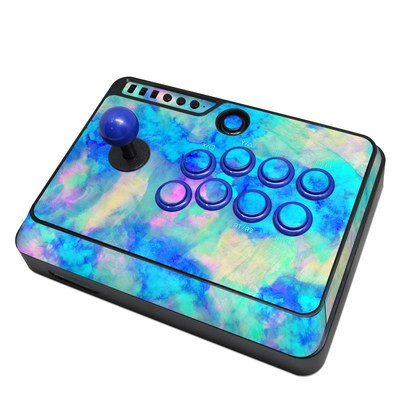Mayflash F300 Arcade Fight Stick Skin - Electrify Ice Blue