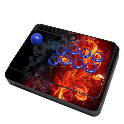 Mayflash F300 Arcade Fight Stick Skin - Flower Of Fire