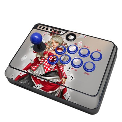 Mayflash F300 Arcade Fight Stick Skin - Queen Of Cards