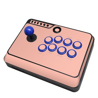 Mayflash F300 Arcade Fight Stick Skin - Solid State Peach