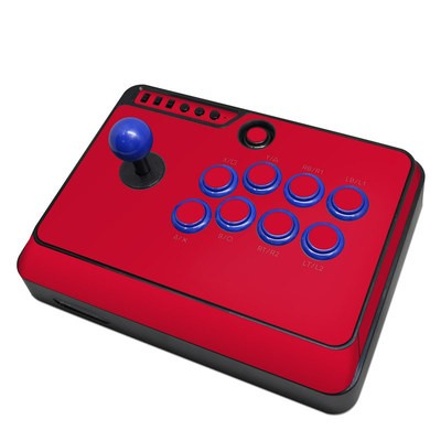 Mayflash F300 Arcade Fight Stick Skin - Solid State Red