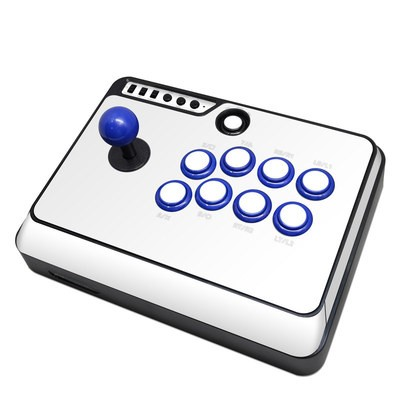 Mayflash F300 Arcade Fight Stick Skin - Solid State White