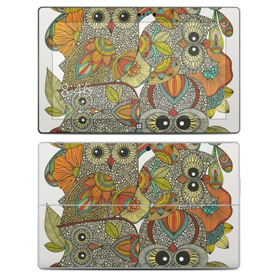 Microsoft Surface 2 Skin - 4 owls
