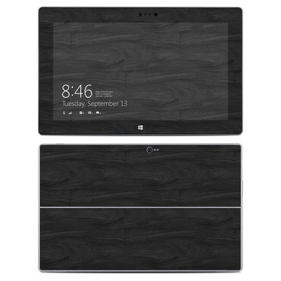 Microsoft Surface 2 Skin - Black Woodgrain