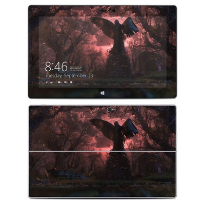 Microsoft Surface 2 Skin - Black Angel