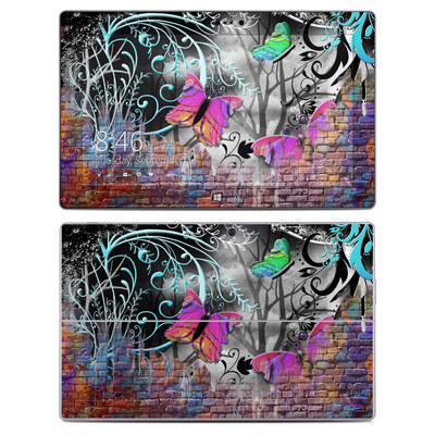 Microsoft Surface 2 Skin - Butterfly Wall