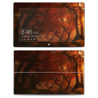 Microsoft Surface 2 Skin - Canopy Creek Autumn