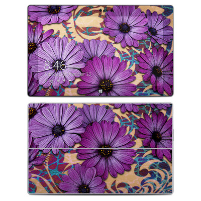Microsoft Surface 2 Skin - Daisy Damask