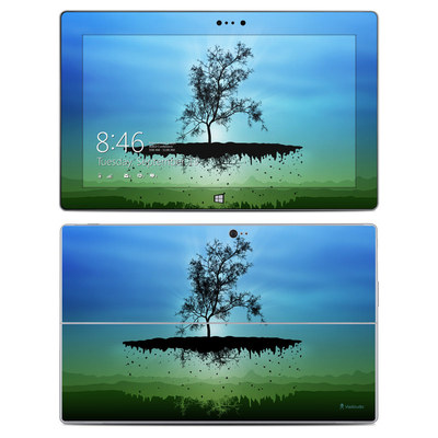 Microsoft Surface 2 Skin - Flying Tree Blue